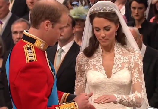 Le prince William et Kate