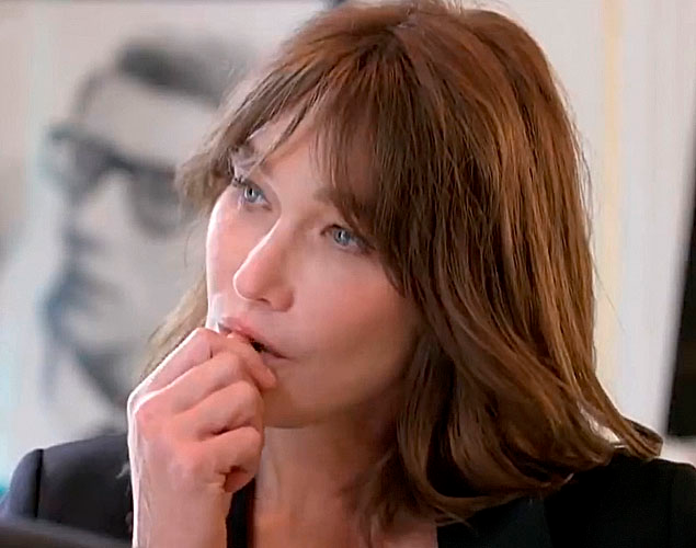 Carla Bruni Carla Bruni Sarkozy Dans Vogue Dans Ma Generation On N A